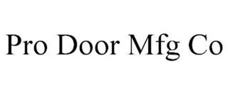 PRO DOOR MFG CO