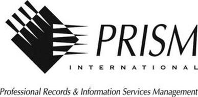PRISM INTERNATIONAL PROFESSIONAL RECORDS & INFORMATION SERVICES MANAGEMENT