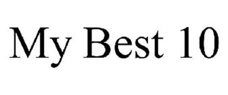 MY BEST 10
