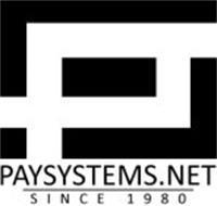 PS PAYSYSTEMS.NET SINCE 1980
