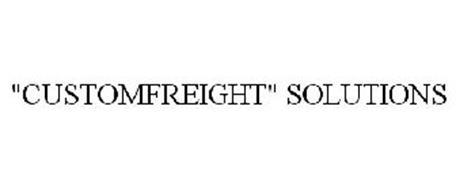 """CUSTOMFREIGHT"" SOLUTIONS"