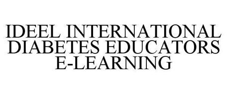 IDEEL INTERNATIONAL DIABETES EDUCATORS E-LEARNING