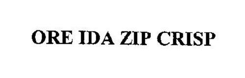 ORE IDA ZIP CRISP