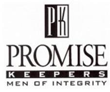 PK PROMISE KEEPERS MEN OF INTEGRITY