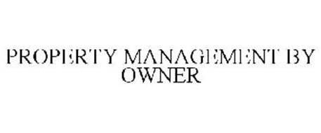 PROPERTY MANAGEMENT BY OWNER