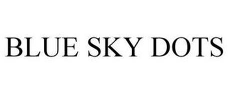 BLUE SKY DOTS