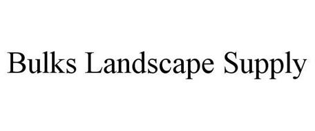 BULKS LANDSCAPE SUPPLY