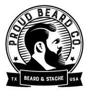 PROUD BEARD CO. TX BEARD & STACHE USA