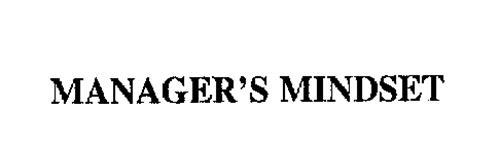 MANAGER'S MINDSET