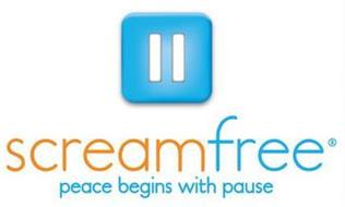 SCREAMFREE PEACE BEGINS WITH PAUSE