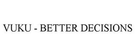 VUKU - BETTER DECISIONS