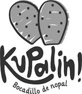 KUPALIN! BOCADILLO DE NOPAL