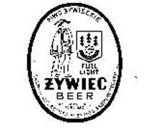 FULL LIGHT ZYWIEC BEER PIWO ZYWIECKIE BREWED AND BOTTLED BY ZYWIEC BREWERY POLAND 1858 NET CONTENTS 12 FL. OZS.
