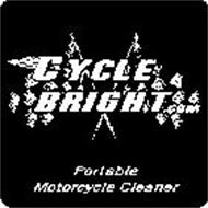 CYCLE BRIGHT.COM PORTABLE MOTORCYCLE CLEANER