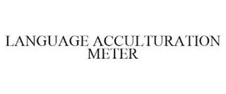 LANGUAGE ACCULTURATION METER