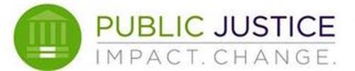 PUBLIC JUSTICE IMPACT. CHANGE.