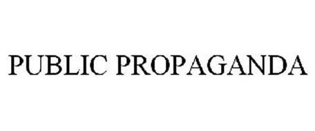 PUBLIC PROPAGANDA