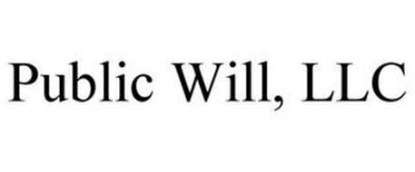 PUBLIC WILL, LLC