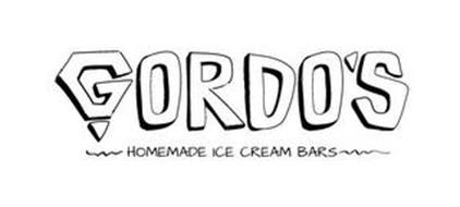 GORDO'S HOMEMADE ICE CREAM BARS