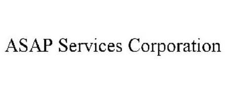 ASAP SERVICES CORPORATION