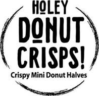 HOLEY DONUT CRISPS! CRISPY MINI DONUT HALVES
