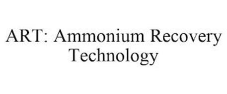 ART: AMMONIUM RECOVERY TECHNOLOGY