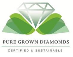 PURE GROWN DIAMONDS CERTIFIED & SUSTAINABLE
