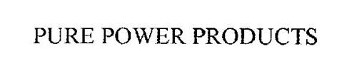 PURE POWER PRODUCTS