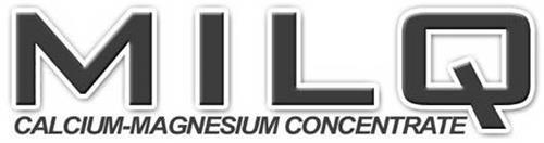 MILQ CALCIUM - MAGNESIUM CONCENTRATE