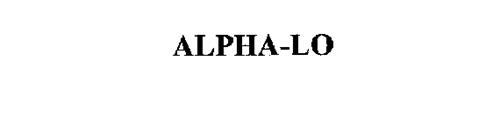ALPHA-LO