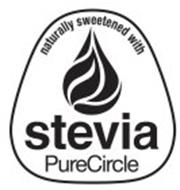 NATURALLY SWEETENED WITH STEVIA PURECIRCLE