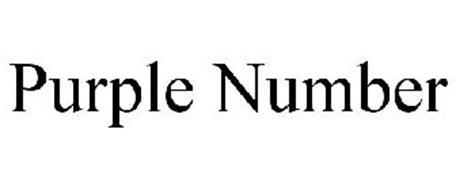 PURPLE NUMBER