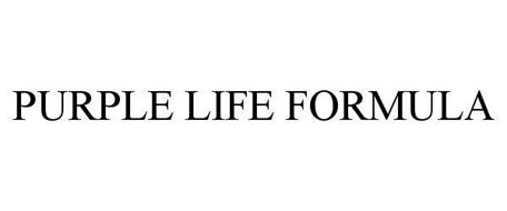 PURPLE LIFE FORMULA