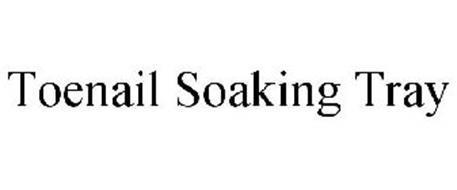 TOENAIL SOAKING TRAY
