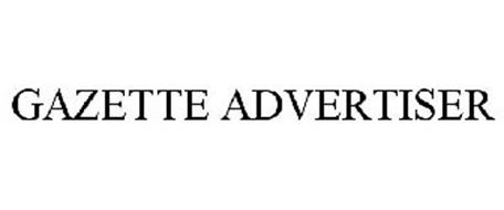 GAZETTE ADVERTISER