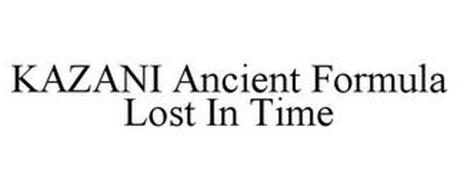 KAZANI ANCIENT FORMULA LOST IN TIME