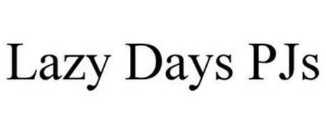 LAZY DAYS PJS