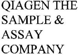 QIAGEN THE SAMPLE & ASSAY COMPANY