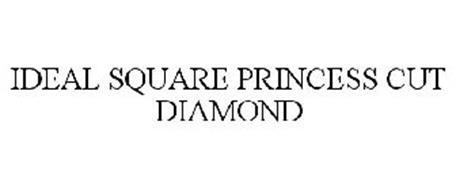 IDEAL SQUARE PRINCESS CUT DIAMOND