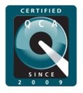 Q CERTIFIED QCA SINCE 2009