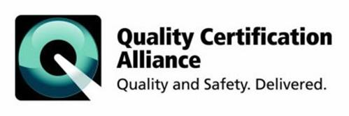 Q QUALITY CERTIFICATION ALLIANCE QUALITY AND SAFETY. DELIVERED.