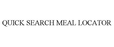 QUICK SEARCH MEAL LOCATOR