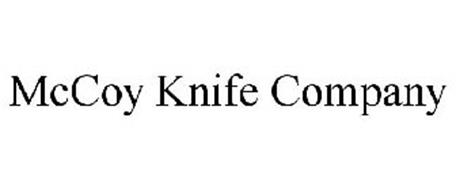 MCCOY KNIFE COMPANY