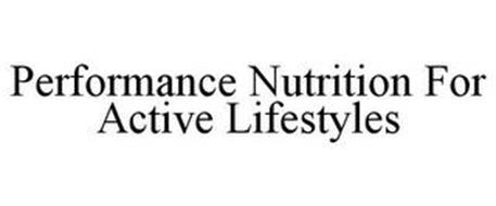 PERFORMANCE NUTRITION FOR ACTIVE LIFESTYLES