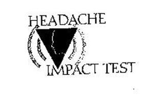 HEADACHE IMPACT TEST