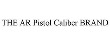THE AR PISTOL CALIBER BRAND