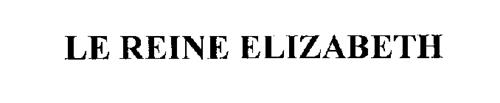 LE REINE ELIZABETH