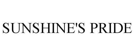 SUNSHINE'S PRIDE