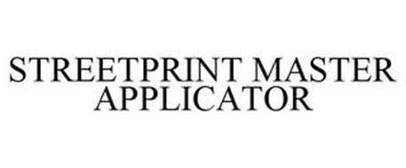 STREETPRINT MASTER APPLICATOR