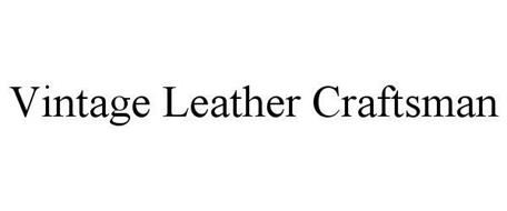VINTAGE LEATHER CRAFTSMAN
